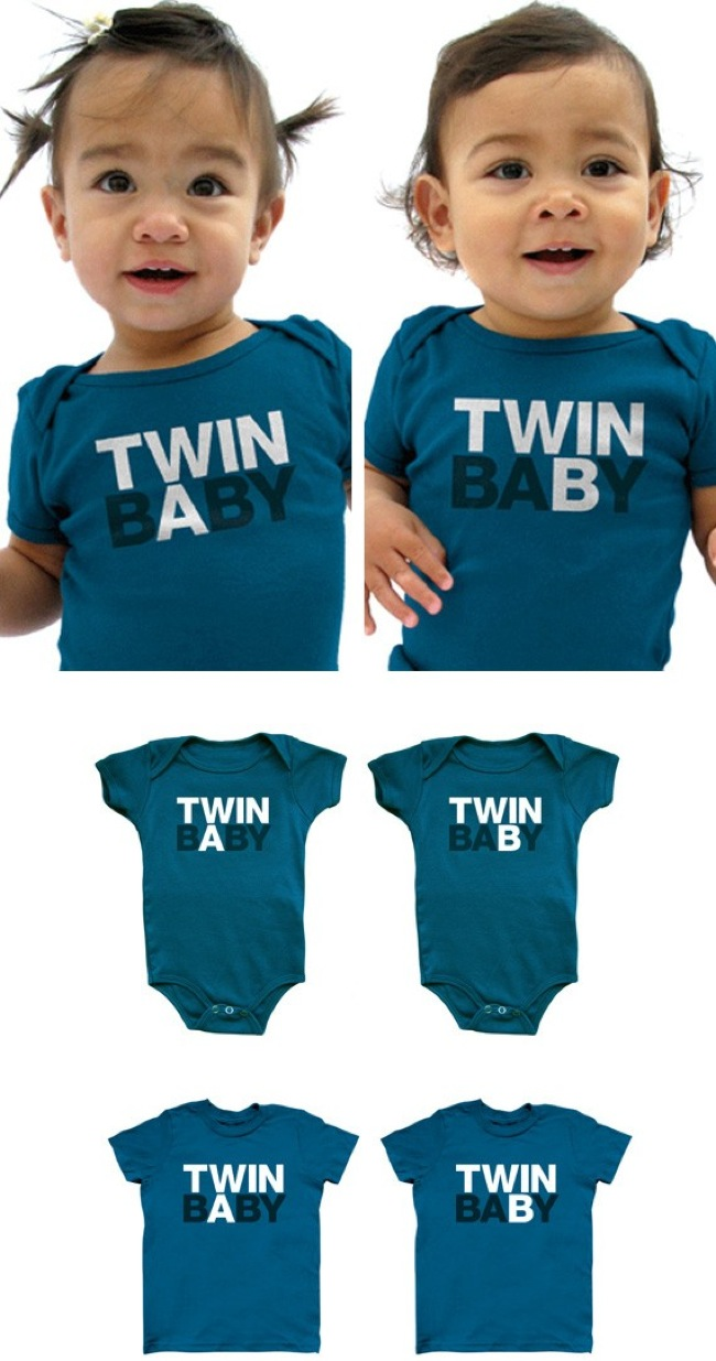 3.) A perfect solution for twins! Just make sure you remember who's A and who's B.