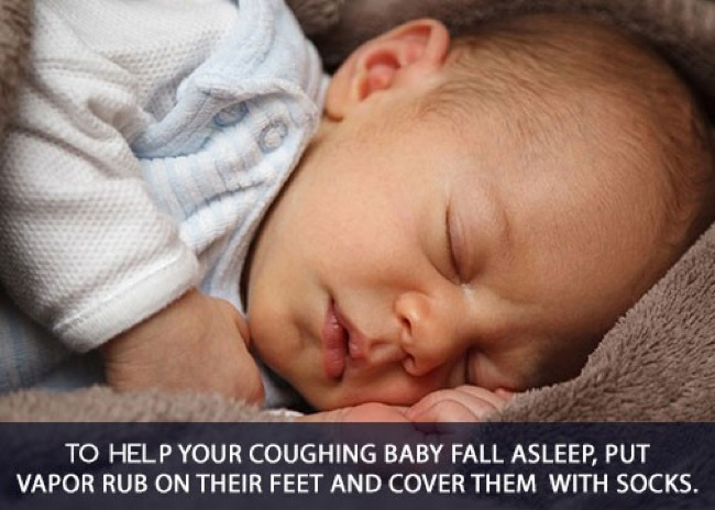 2.) Coughing baby remedy. Does this work on adults, too?
