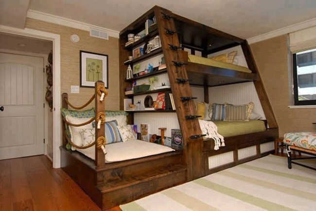 2.) This bunk bed upgrade.