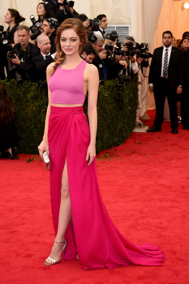 The time she wore this two-tone Thakoon gown to the Met Gala.