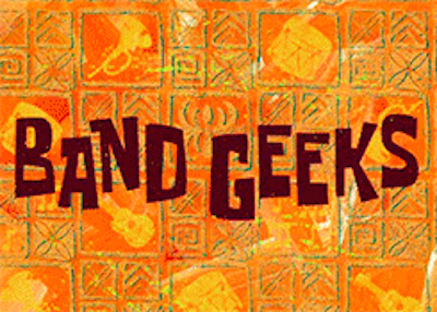 "But out of the HUNDREDS of episodes that have aired, one stands out above the rest. True SpongeBob fans know which one I speak of: ""Band Geeks."""