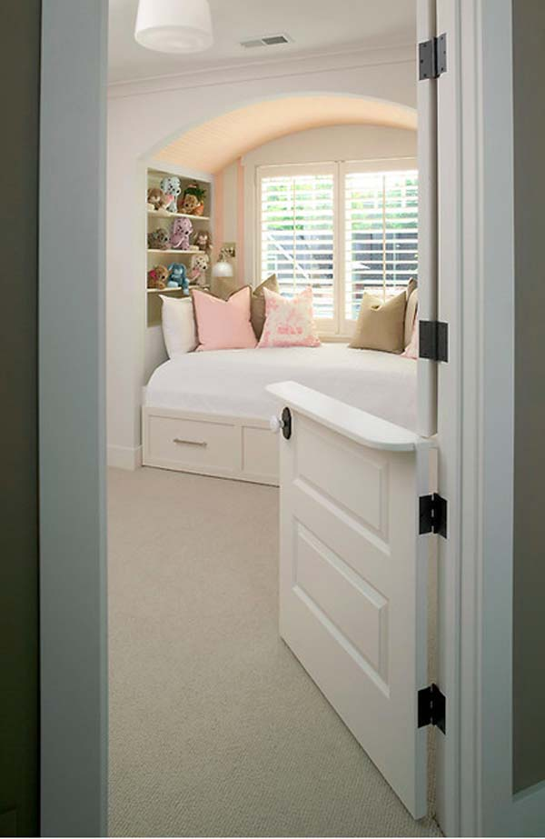 9.) Install dutch doors so you can watch your kids/pets without baby gates.