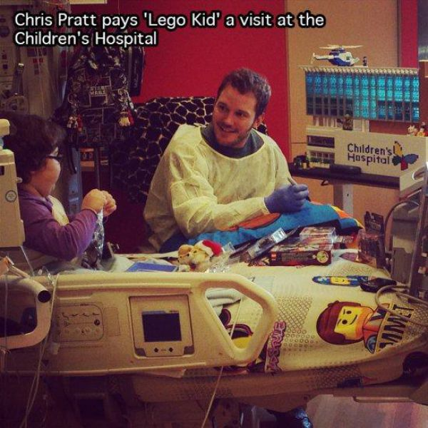 6.) In case you needed another reason to love Chris Pratt.