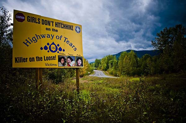 6.) Highway of Tears