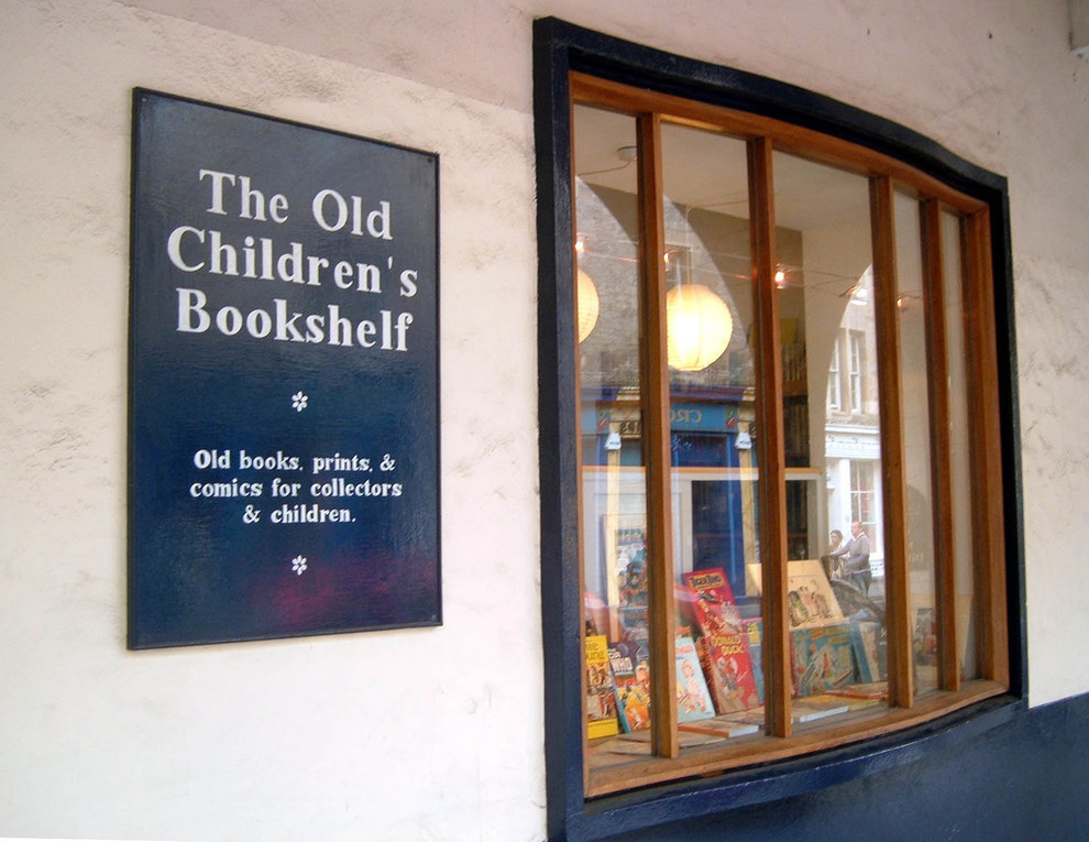 The Old Children's Bookshelf