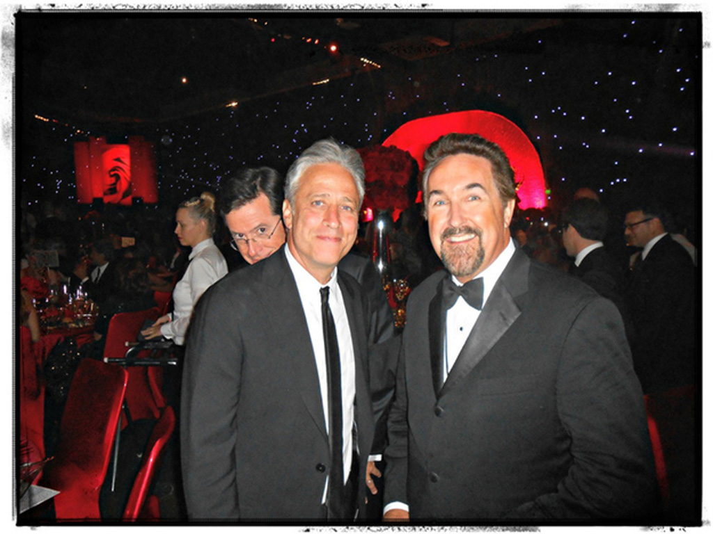 18) Stephen Colbert's motto is; If ya can't join 'em, photobomb 'em.