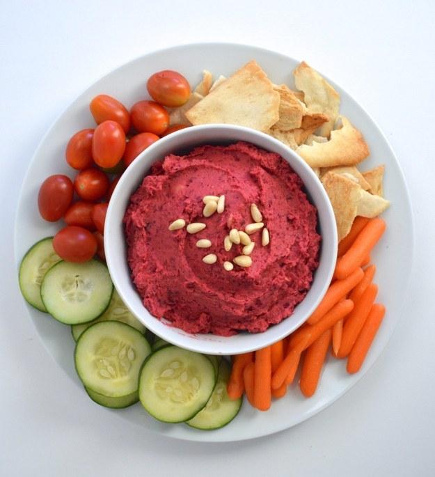 Beet Hummus