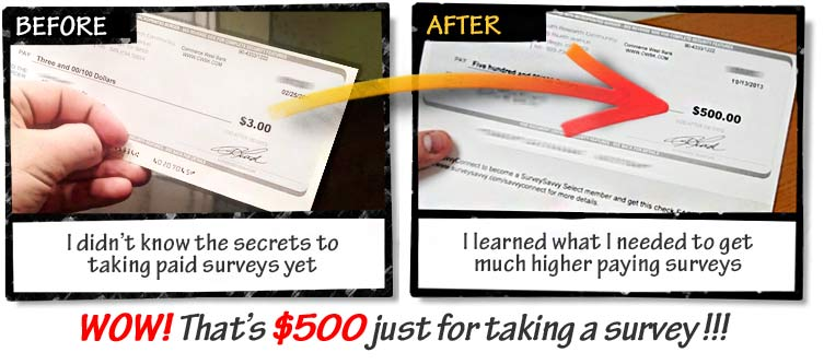 Discover a Weird trick i use to make over $3,500 per month taking paid surveys online