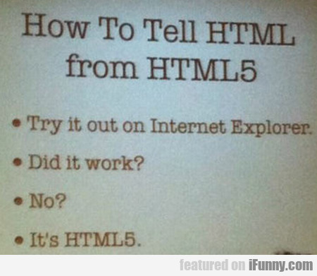 How To Tell Html