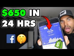 $650 In 24 HOURS NEW Facebook Ads Strategy Shopify Dropshipping
